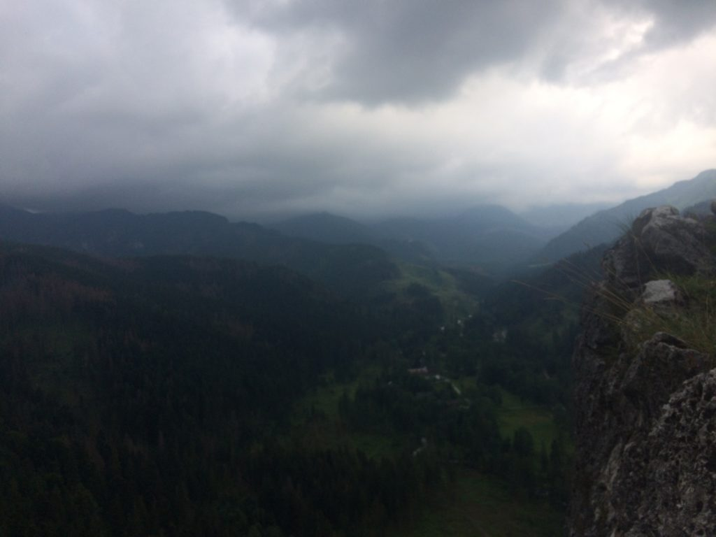 Burzowo nad Tatrami